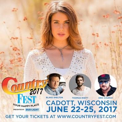 Country Fest with Blake Shelton, Eric Church, Thomas Rhett & more
