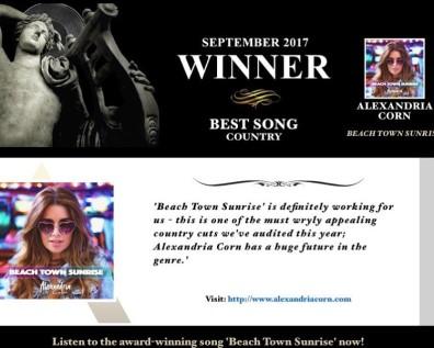Best Song Winner